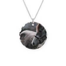 Close-up of Horse Necklace