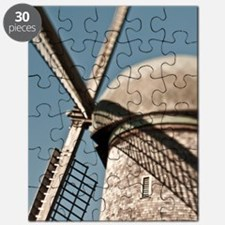 close up of a Dutch windmill. Puzzle
