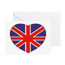 British Heart Greeting Cards (Pk of 10)