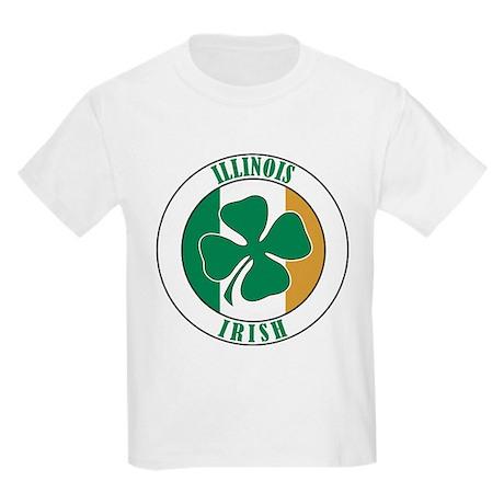 Illinois Irish Kids Light T-Shirt