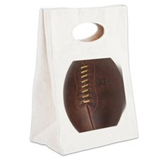 rugby ball Canvas Lunch Tote