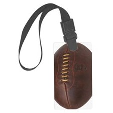 rugby ball Luggage Tag
