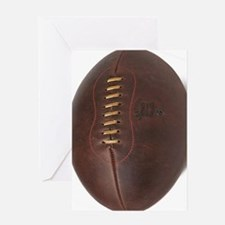 rugby ball Greeting Card