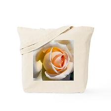 Detail of pale rose. Tote Bag