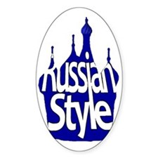Russian Style Decal