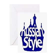 Russian Style Greeting Card