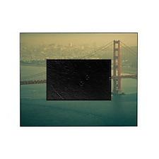 Golden Gate bridge at sunset in San  Picture Frame