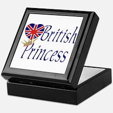 British Princess Keepsake Box