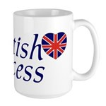 British Princess Large Mug