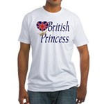 British Princess Fitted T-Shirt