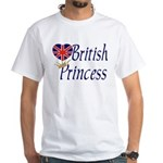 British Princess White T-Shirt