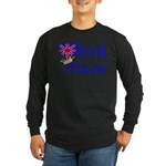 British Princess Long Sleeve Dark T-Shirt