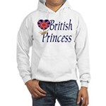 British Princess Hooded Sweatshirt