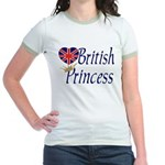 British Princess Jr. Ringer T-Shirt