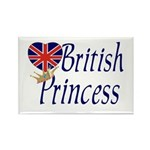 British Princess Rectangle Magnet