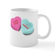 Leia  Han Solo Hearts teapot Mug
