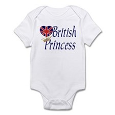British Princess Infant Bodysuit
