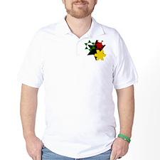 Rastafarian Colors T-Shirt