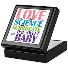 Love, Science,  a Surrogate Keepsake Box