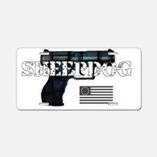 Sheepdog Aluminum License Plate