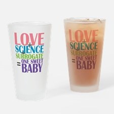 Love, Science,  a Surrogate Drinking Glass