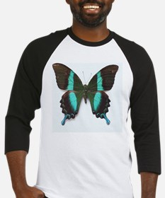 Emerald Swallowtail Butterfly Baseball Jersey