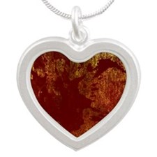 Bloody Stuff L Silver Heart Necklace