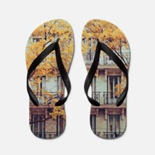 Facade of a c. 19th Century tenement ho Flip Flops