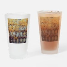 Facade of a c. 19th Century tenemen Drinking Glass