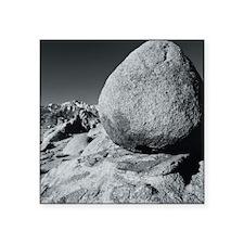 """Egg, Lone Pine, California, Square Sticker 3"""" x 3"""""""