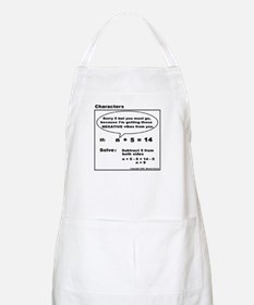 EQUATION SUBTRACT FROM BOTH S BBQ Apron