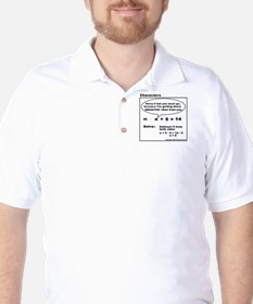 EQUATION SUBTRACT FROM BOTH S Golf Shirt