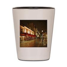 France, Paris, Montmartre Shot Glass