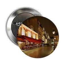 """France, Paris, Montmartre 2.25"""" Button"""