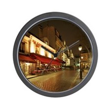 France, Paris, Montmartre Wall Clock