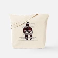 Sheepdog Motto Tote Bag