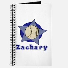 Zachary Customized Baseball Journal