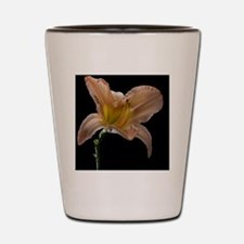 Last day lily flower of summer shot aga Shot Glass