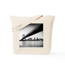 Manhattan Bridge and skyline, New York, U Tote Bag