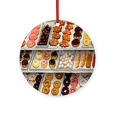 donuts Round Ornament