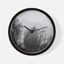 Huangshan mountains, China. Wall Clock