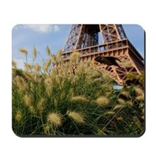 Low point of view on Eiffel Tower, Paris Mousepad