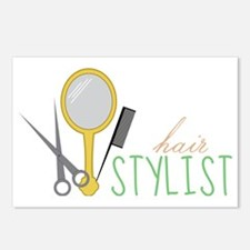 Hair Stylist Tools Postcards (Package of 8)
