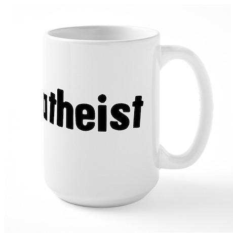 Proud Atheist Large Mug