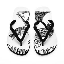 Blackbirds Logo Flip Flops