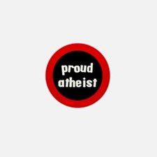 Proud Atheist Mini Button