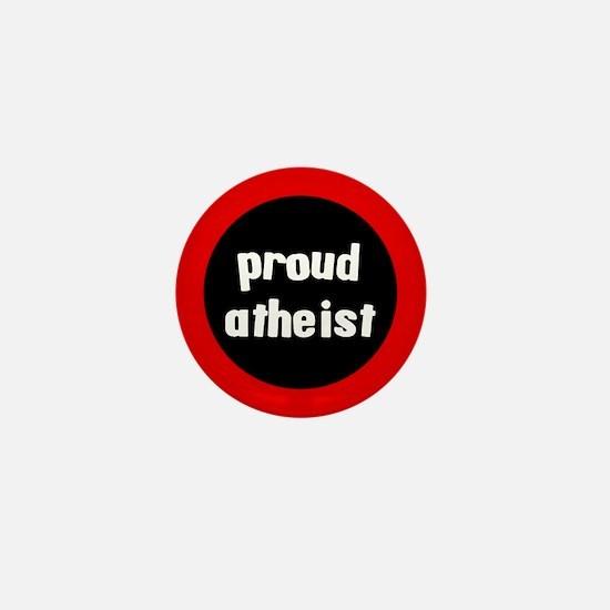 Proud Atheist Mini Button