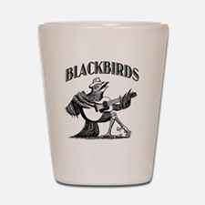 Blackbirds Logo Shot Glass