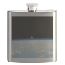 Moon Over the Earth Flask