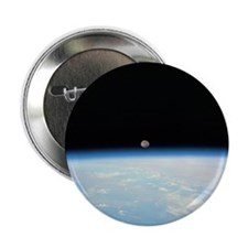 """Moon Over the Earth 2.25"""" Button"""